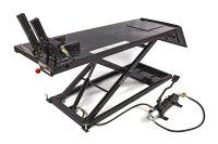 MC-løftebord, lufthydraulisk 700 kg, sort