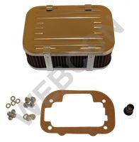 Kromluftfilter for Weber DGV/DGAV