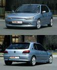Senkesett Peugeot 306 cab 50mm