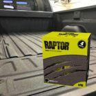 Raptor Bedliner/lasteplanbeskyttelse, for innfarging